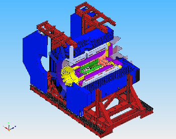 3D view of the Solenoid - 21/11/2008 (small)
